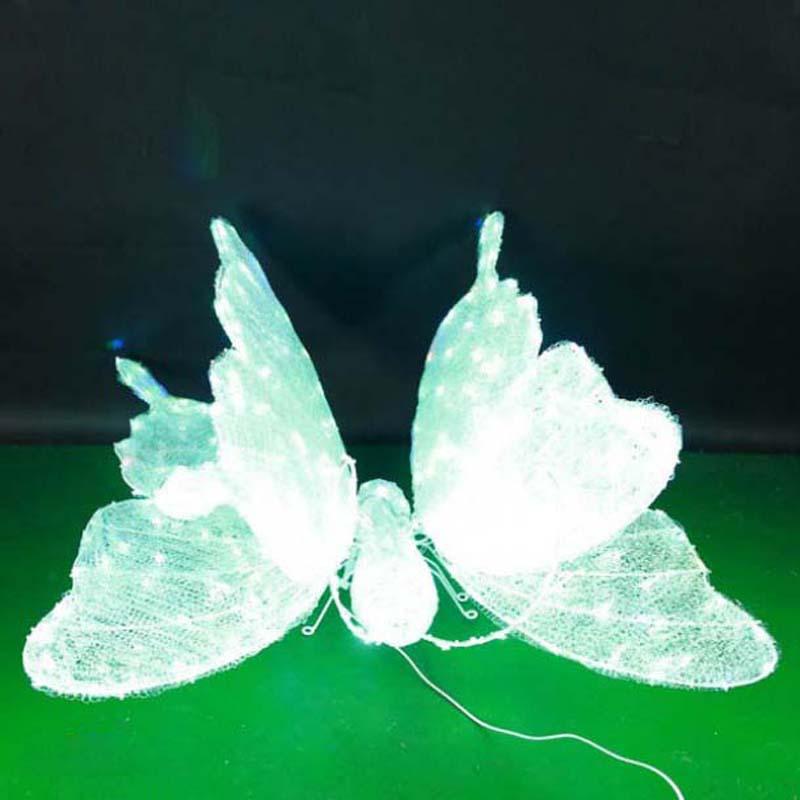 CD-LS122 3D LED Oświetlone Motyl Wzornictwo Światła Dekoracje