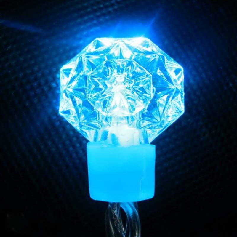 Diody LED RGB String Diamond / Snowflake Dekoracyjne diody LED Xmas