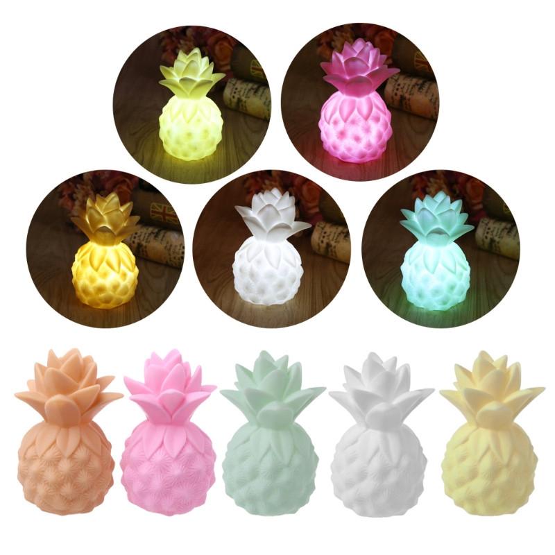 doprowadziło winylu ananas gra rekwizyty doprowadziły nocnym świetle tabeli sypialni dekoracyjnych dziecko głównego dzieci nie jest oświetlenie zabawka prezent