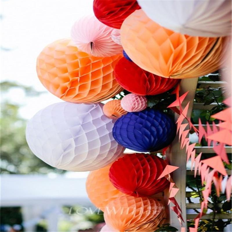Zestawy do dekoracji imprez, w tym okrągły kwiat bibuły Pom Flower, kolorowy rzeźbiony na urodziny