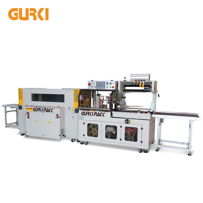 Automatyczna owijarka termokurczliwa do 40 sztuk / min | GPL-5545C + GPS-5030LW