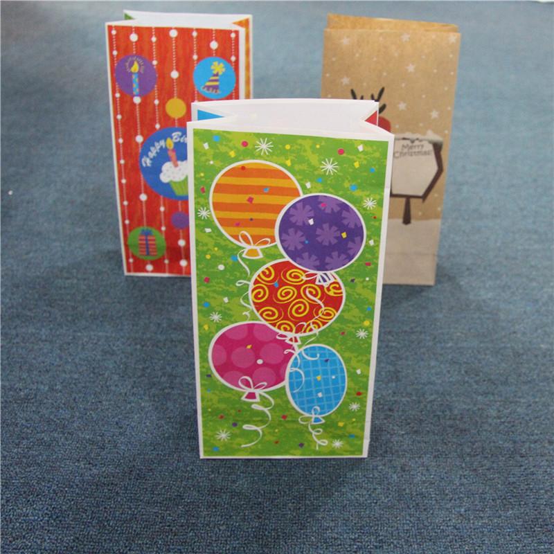 Projekt nadruku Torba papierowa Małe torby na prezenty Materiał pakowy do torby do pakowania