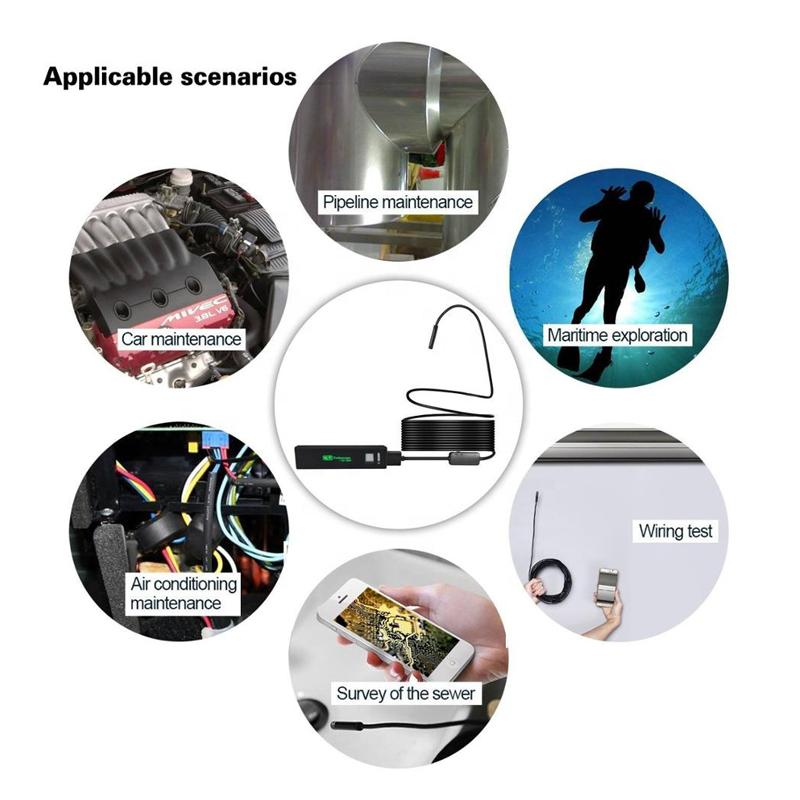 Wifi Endoskop przemysłowy