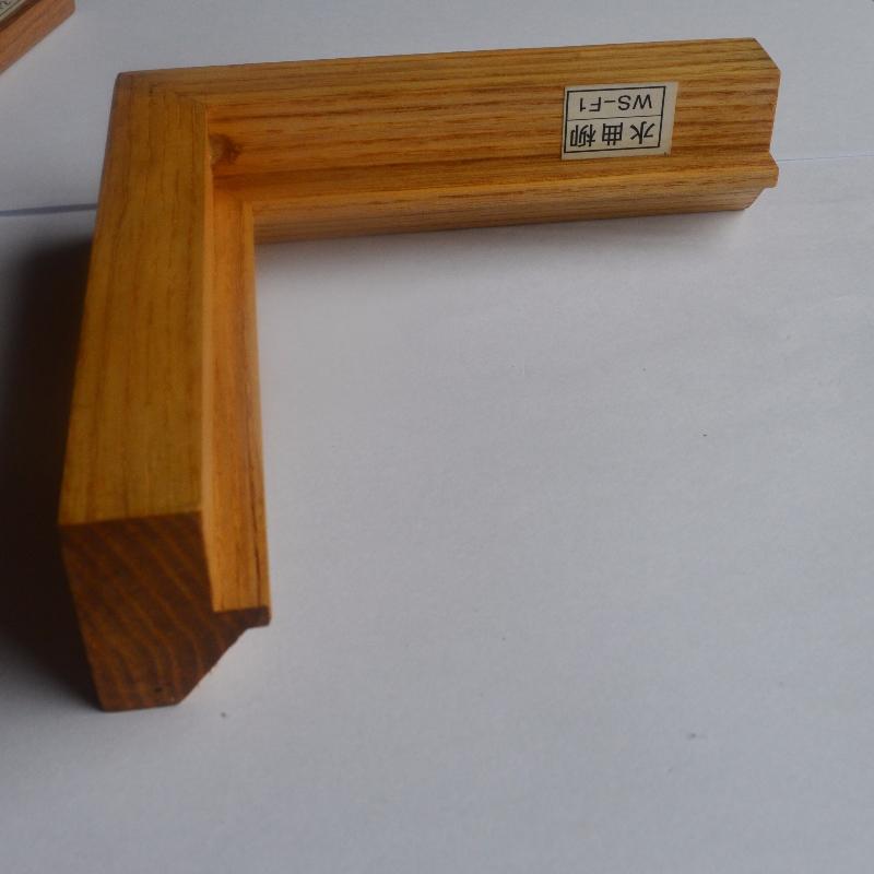Niestandardowa ramka na zdjęcia z litego drewna (Fraxinus mandshurica Rupr)