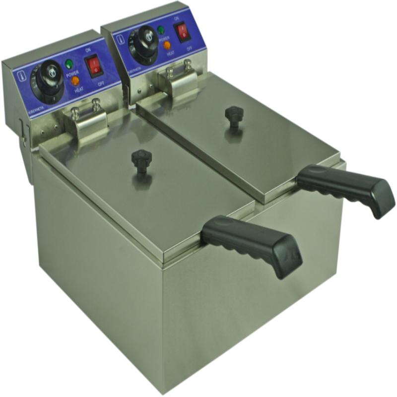 frytkownica elektryczna dwa zbiorniki
