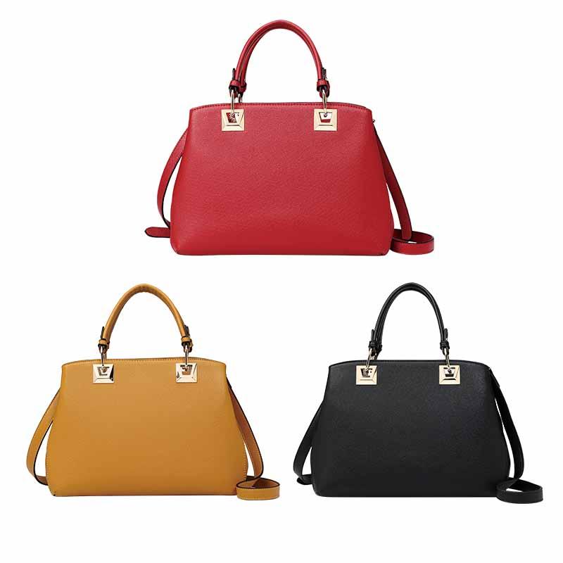 Najlepiej sprzedająca się damska torebka ze skóry PU-HZLSHB008
