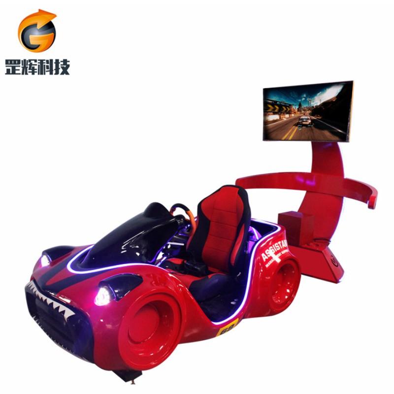 Racing Simulator VR Machine Globalna gorąca sprzedaż park rozrywki tematyczny trzyosiowy samochód wyścigowy VR