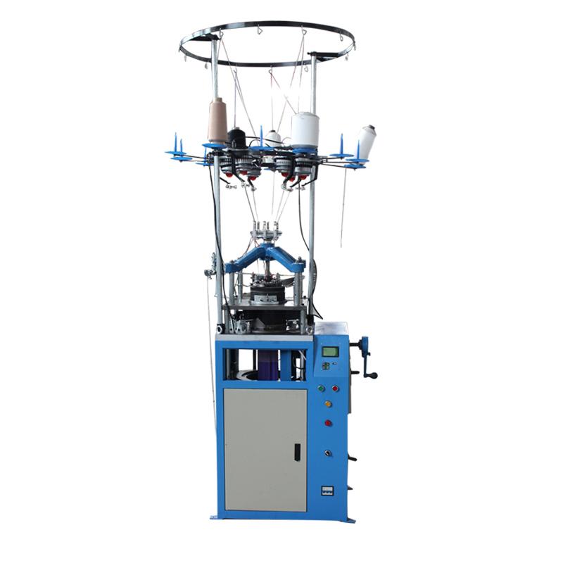 Maszyna dziewiarska podpierająca kolana