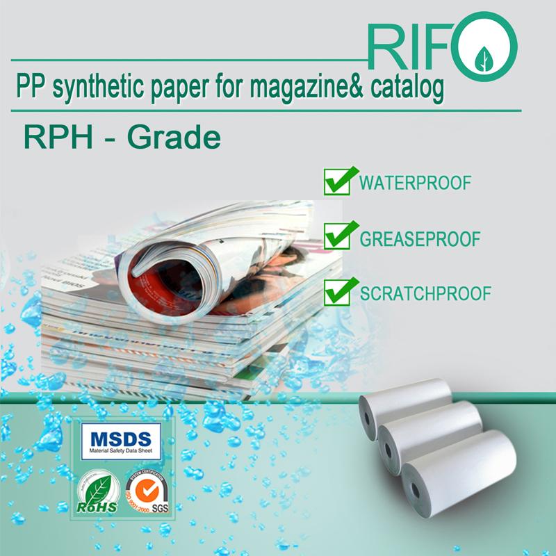 Czy papier syntetyczny RIFO PP nadaje się do recyklingu?