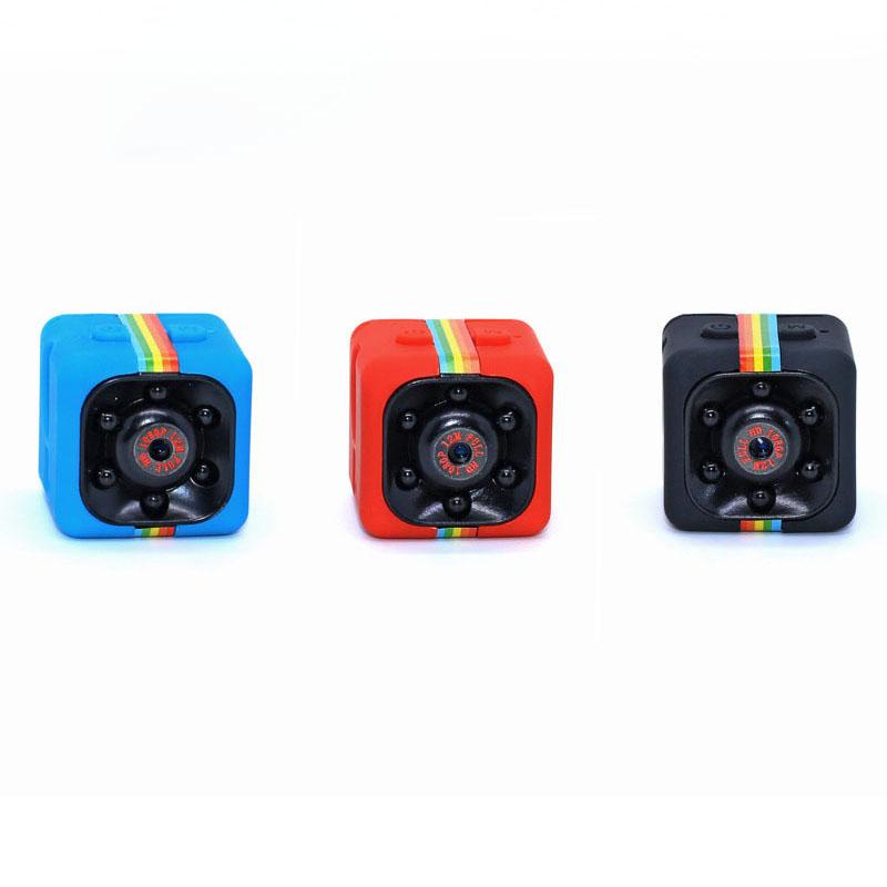 Przenośna mini kieszonkowa kamera Real HD 720P SQ11 Kąt widzenia 140 stopni