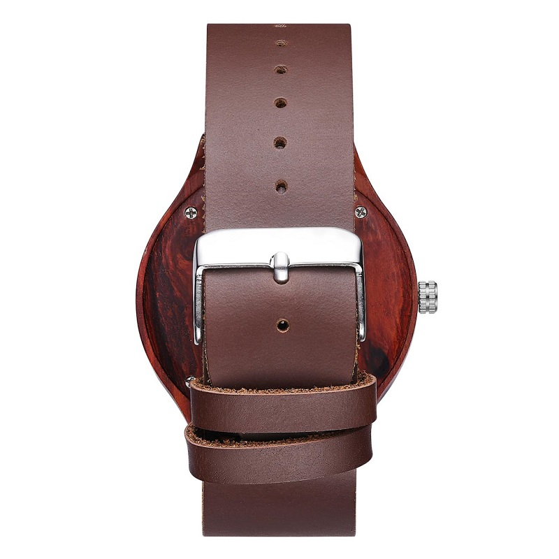 Zegarek na rękę z drewna i najlepszy skórzany zegarek na rękę z parami walentynkowymi