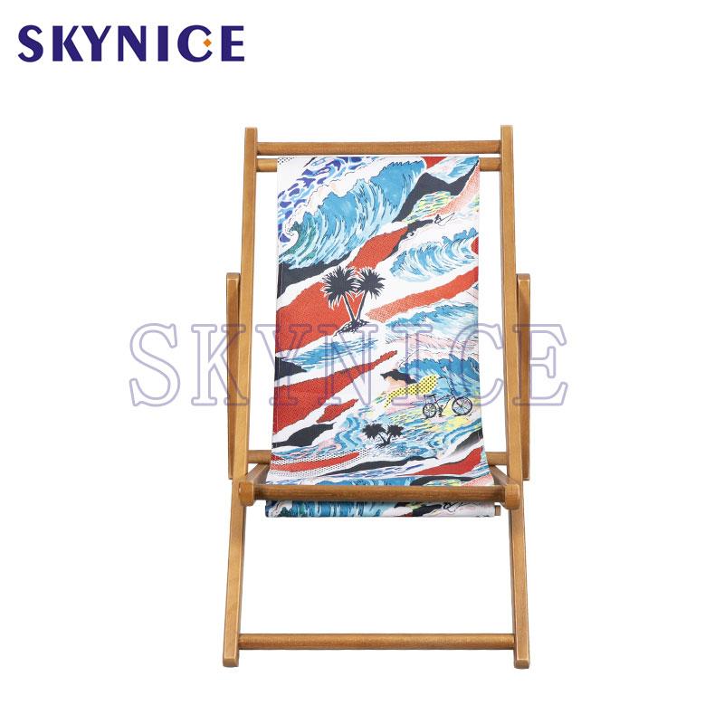 Krzesło z drewna składanego dla dzieci