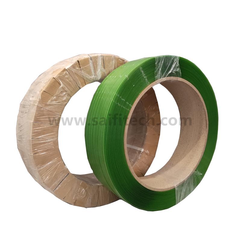Zielony poliester PET Bandaż taśmowy