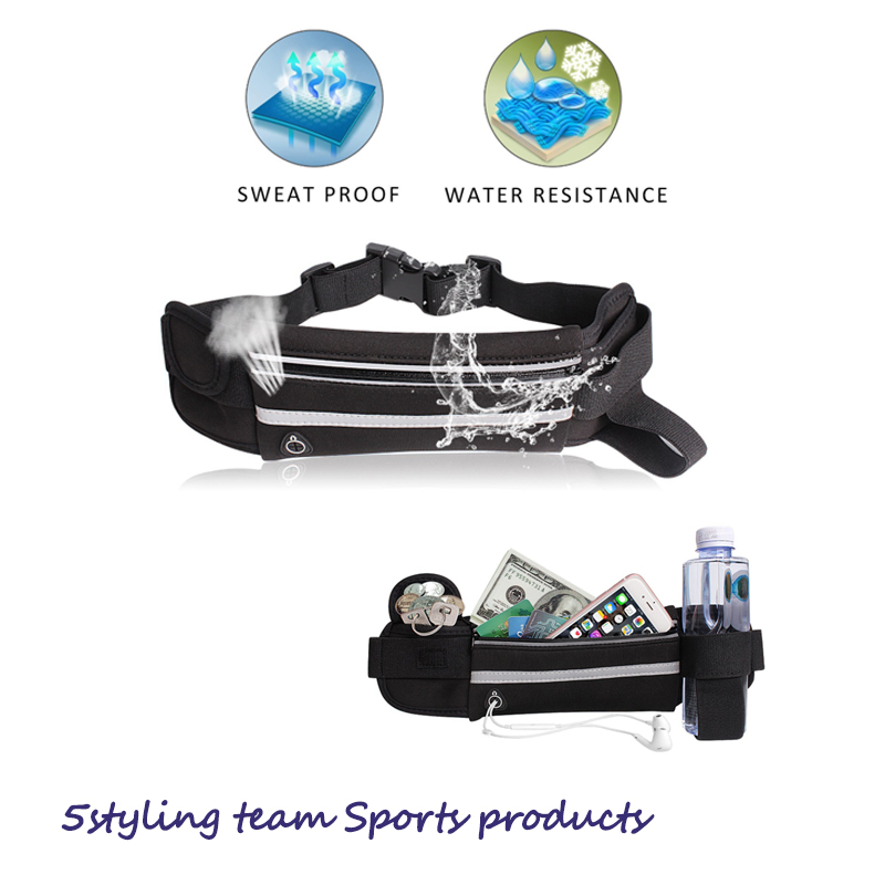 Butelka z wodą Bodypack outdoor sport Bodypack fitness running Bodypack wodoodporny telefon komórkowy Bodypack close riding