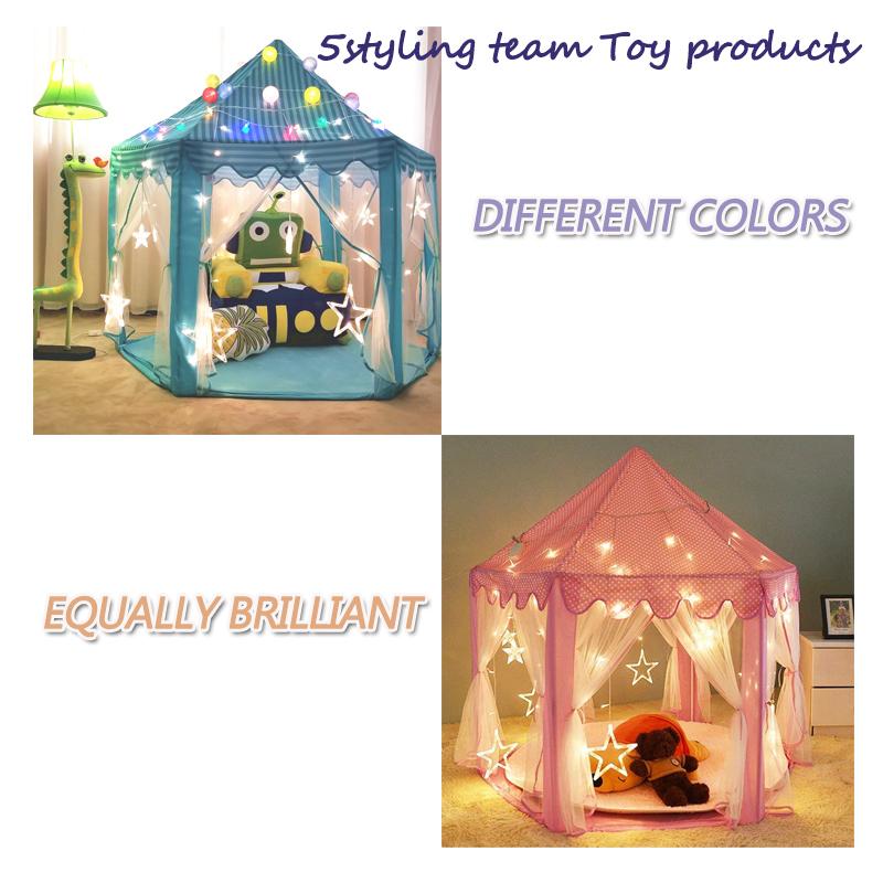 Namiot dziecięcy sześciokątny namiot księżniczki dziecięcy domek do gry Namiot dziecięcy Zabawki producenta