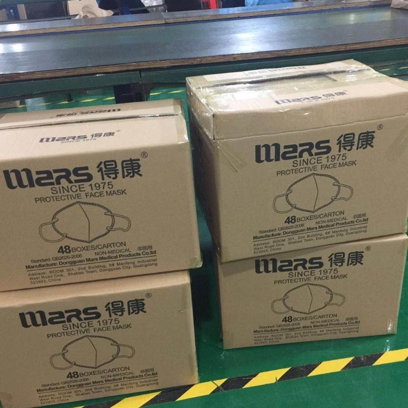 Chińska maska Mars N95 z raportem Niosh certyfikaty FDA CE