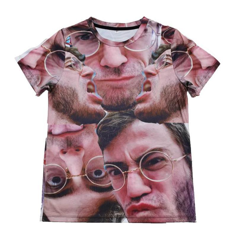 T-shirt z pełnym nadrukiem OEM Hurtownia odzieży Niestandardowa koszulka z długim rękawem
