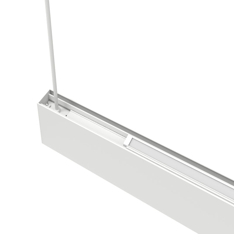 Rozwiązanie antyrefleksyjne UGR u003C16 możliwe do podłączenia bez śrub LED liniowe światło do salonu biurowego w sklepie modowym
