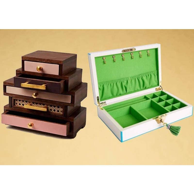 Najlepsze organizery na biżuterię: pudełka, szuflady i nie tylko, aby utrzymać porządek w biżuterii