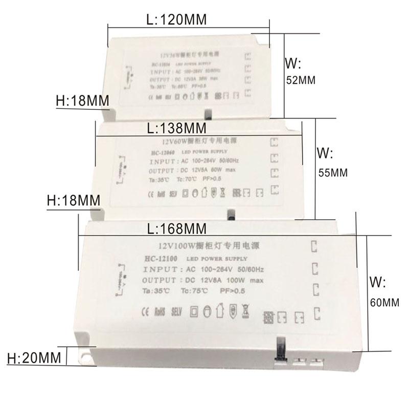 36W 12V 24V 36V LED indukcyjny zasilacz przełączający